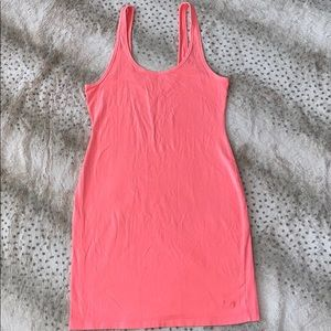 PINK VS NEON BODYCON DRESS